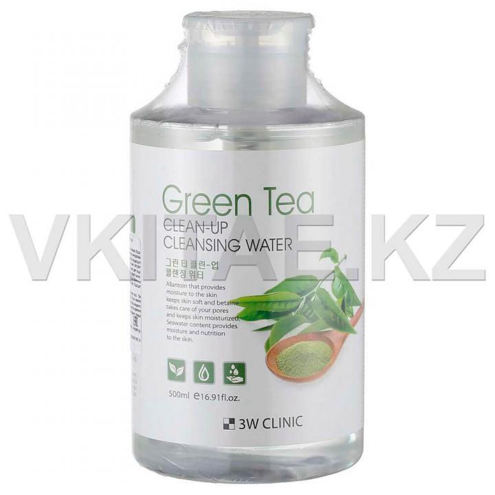 Мицеллярная вода с экстрактом зеленого чая от 3W Clinic