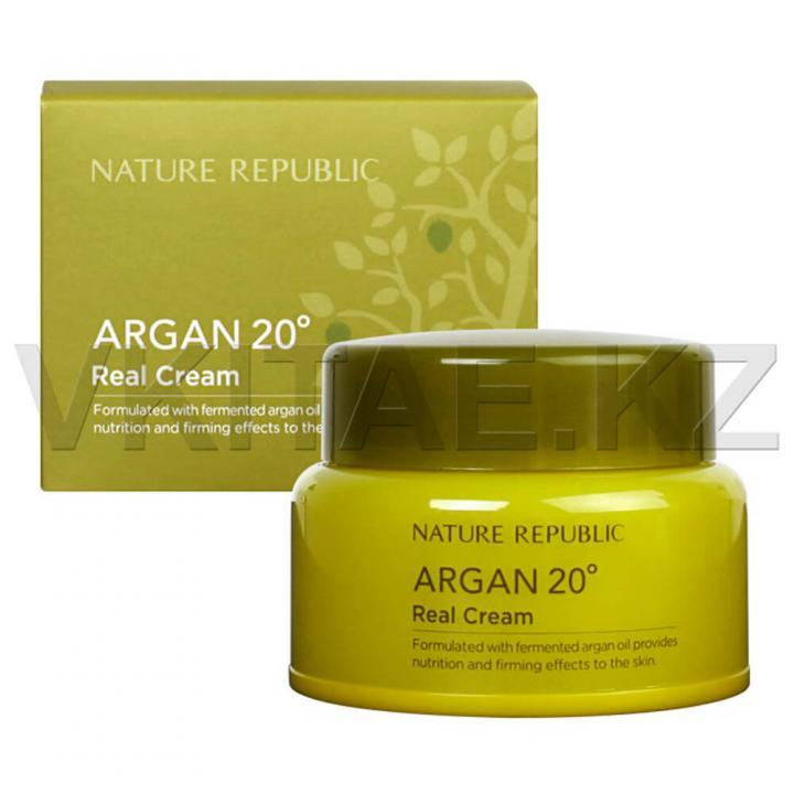 Крем с аргановым масло для сухой кожи от Nature Republic