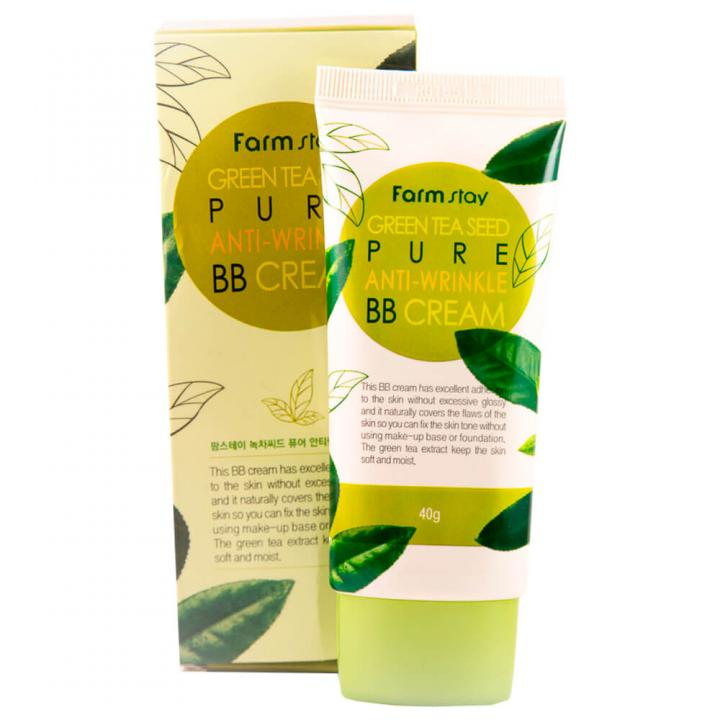 ББ-крем с экстрактом зеленого чая от FarmStay