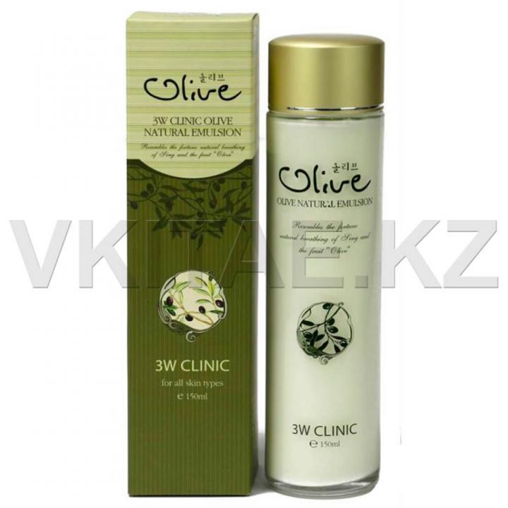 Увлажняющая эмульсия с маслом оливы от 3W Clinic