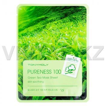 Тканевая маска с экстрактом зеленого чая от Tony Moly