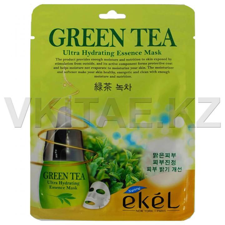 Тканевая маска с экстрактом зеленого чая от Ekel