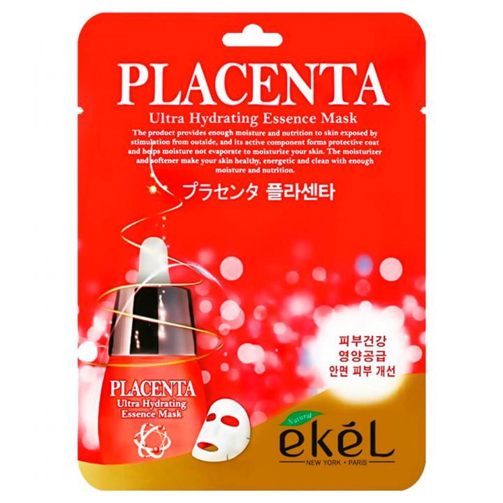 Тканевая маска с плацентой от Ekel