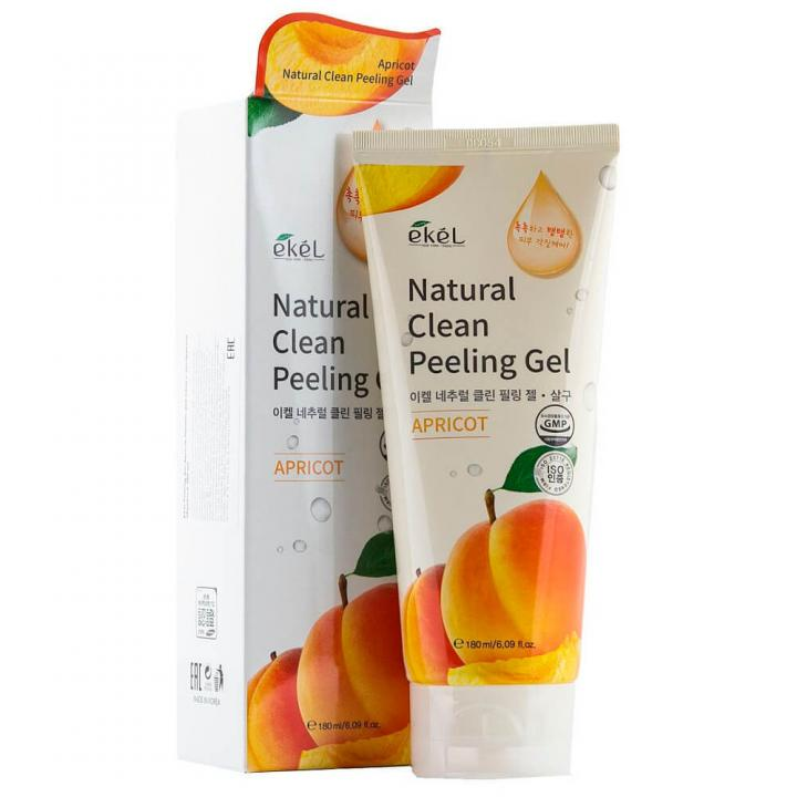 Пилинг-скатка с экстрактом абрикоса от Ekel