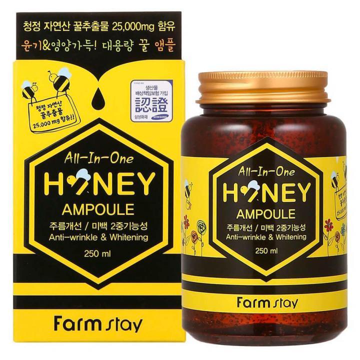 Сыворотка с экстрактом меда и маточным молочком от FarmStay