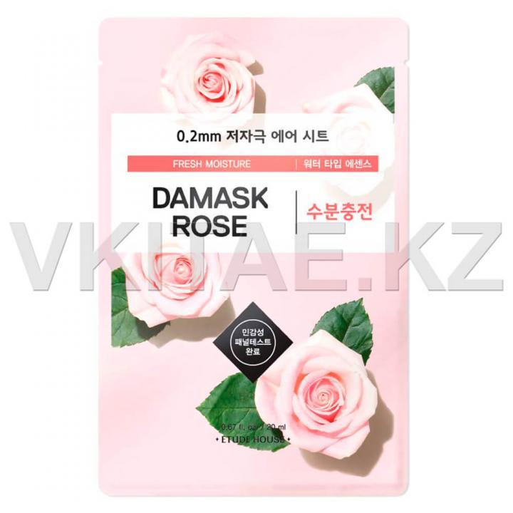 Тканевая маска с экстрактом дамасской розы от Etude House