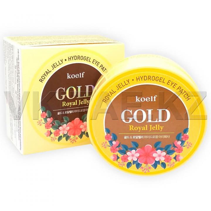 Гидрогелевые патчи с золотом и маточным молочком от Koelf