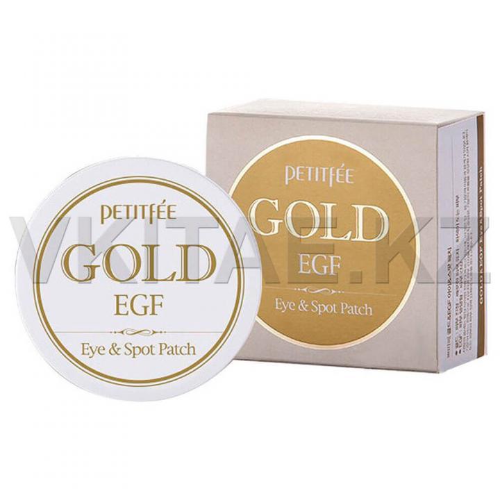 Омолаживающие патчи с экстрактом золота от Petitfee