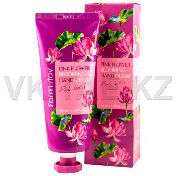 Крем для рук с экстрактом розового лотоса от FarmStay