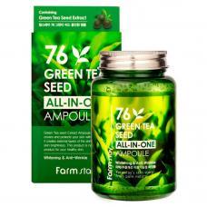 Ампульная сыворотка с экстрактом семян зеленого чая от FarmStay