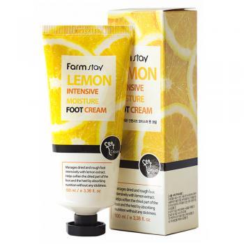 Крем для ног с экстрактом лимона от FarmStay