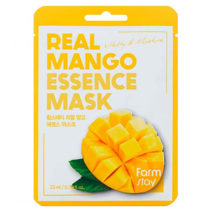 Тканевая маска для лица с экстрактом манго от FarmStay