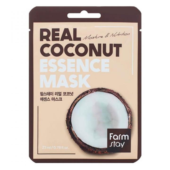 Тканевая маска для лица с экстрактом кокоса от FarmStay