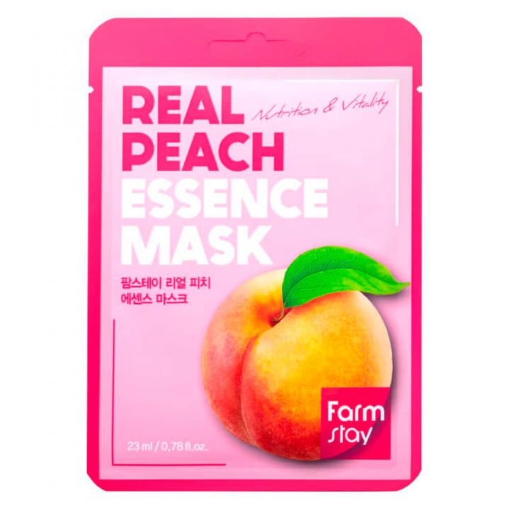 Тканевая маска для лица с экстрактом персика от FarmStay