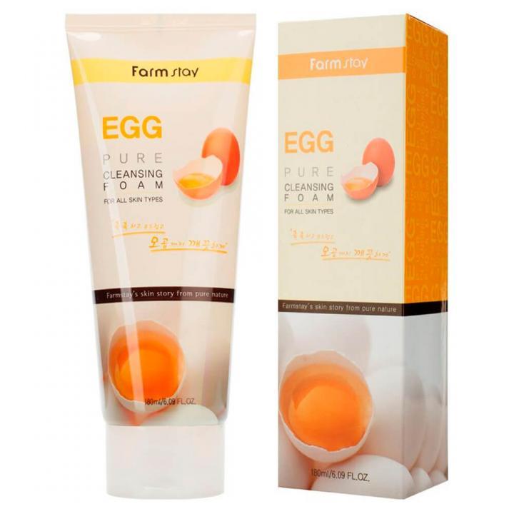 Пенка для умывания с яичным экстрактом от FarmStay