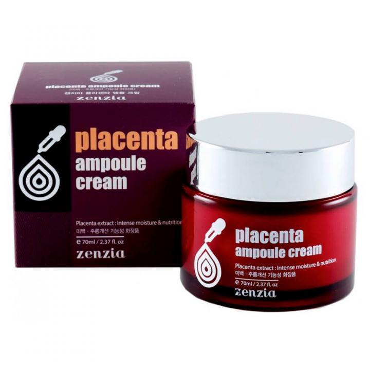 Ампульный крем с плацентой от Zenzia