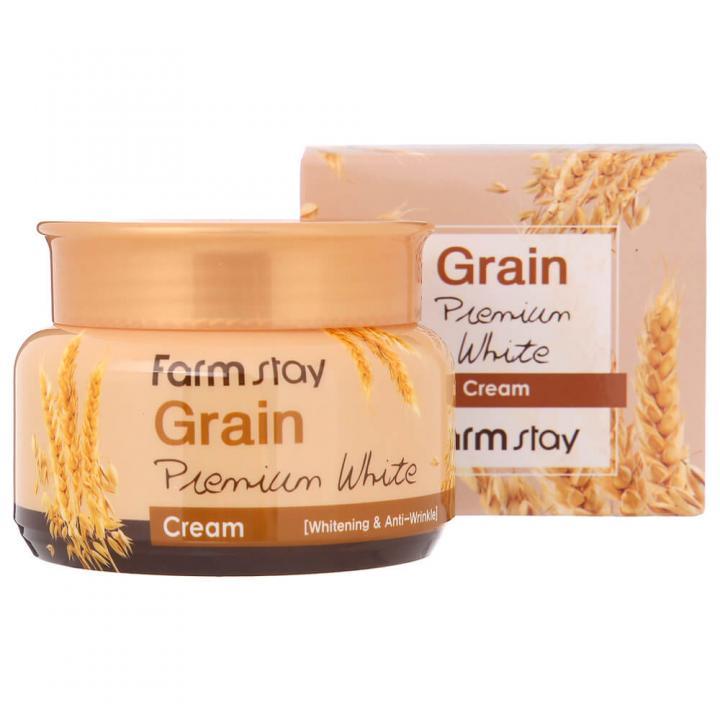 Осветляющий крем с ростками пшеницы от FarmStay