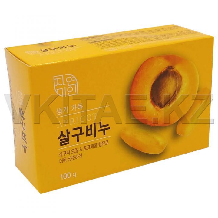 Косметическое мыло с маслом абрикоса от Mukunghwa