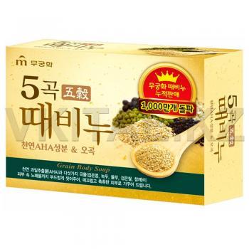Мыло-скраб с экстрактом пяти злаков от Mukunghwa