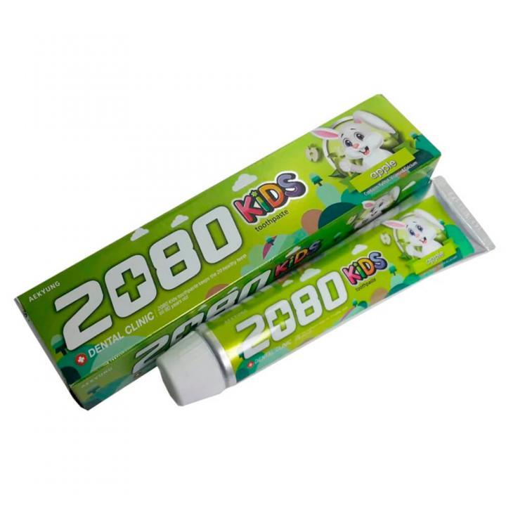 Детская зубная паста со вкусом яблока от 2080