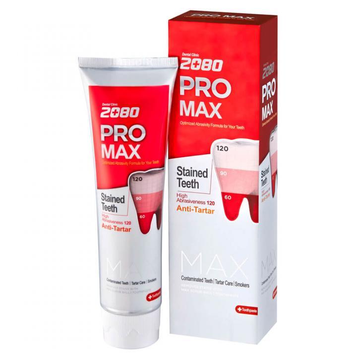 Зубная паста против сильного налета от 2080