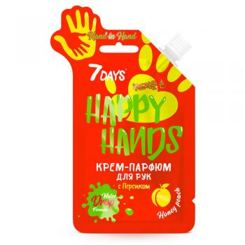 Крем для рук с персиком от 7 Days