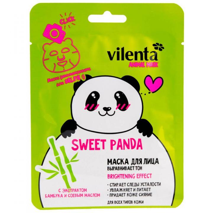 Тканевая маска с изображением панды от 7 Days